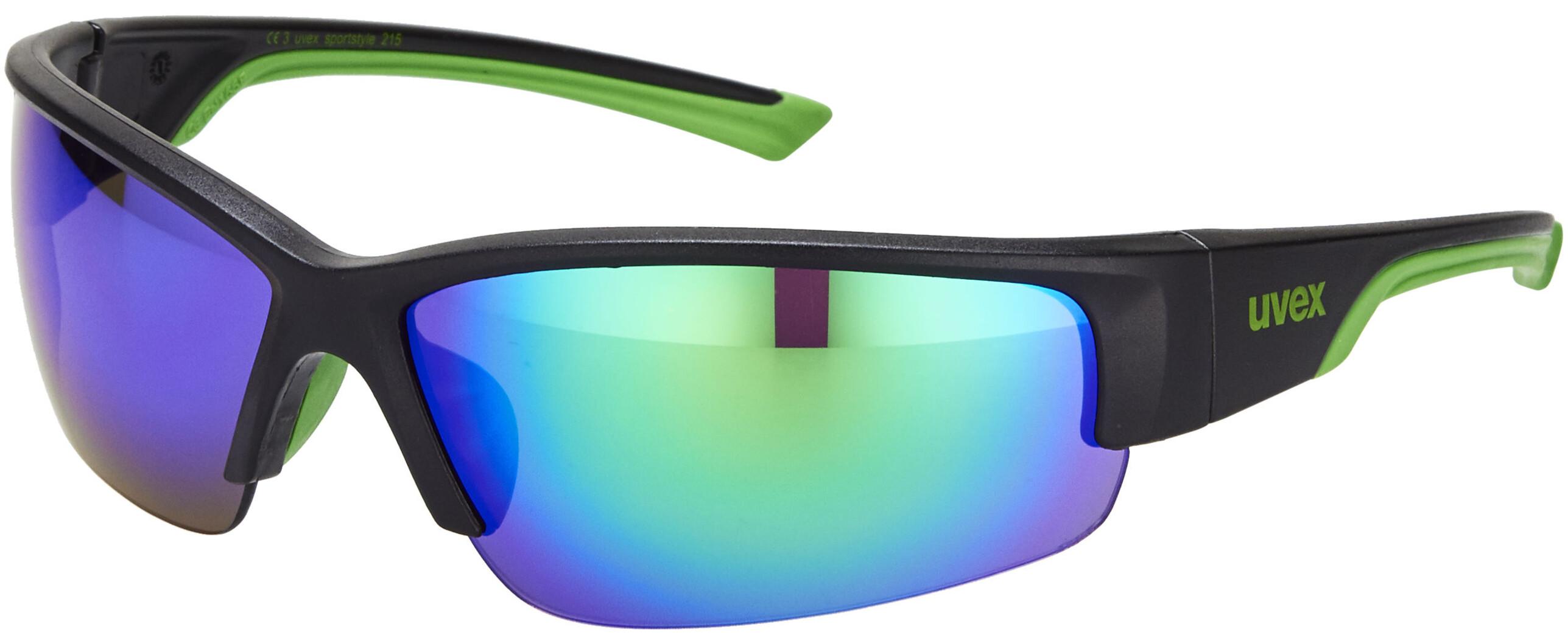 a5cd72e4d69f26 UVEX sportstyle 215 Brillenglas zwart I Eenvoudig online bij Bikester